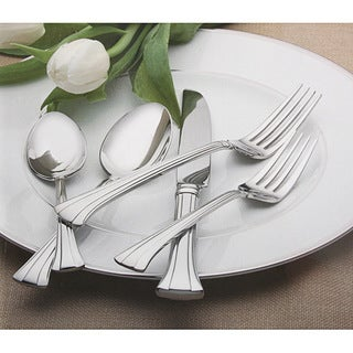 Link to Waterford Mont Clare Stainless 65-piece Flatware Set Similar Items in Flatware