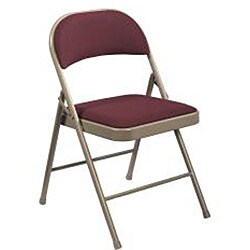 NPS Commercialine Fabric Padded Folding Chair (Pack of 4)