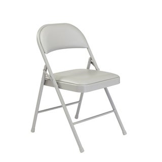Link to NPS Commercialine Vinyl Padded Folding Chair (Pack of 4) Similar Items in Home Office Furniture