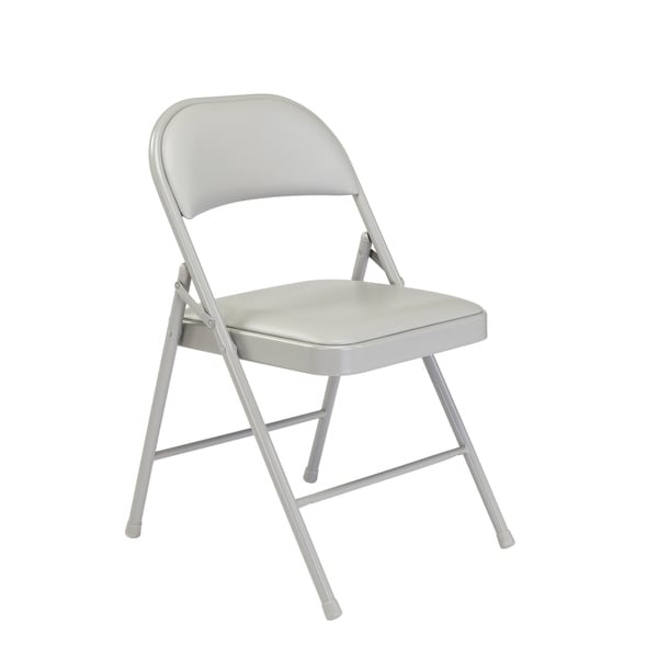 (4 Pack) Commercialine Vinyl Padded Folding Chair. Opens flyout.
