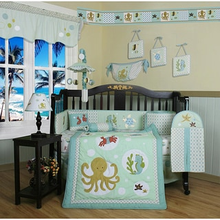 Geenny Sea Animals 13-piece Crib Bedding Set
