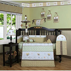Geenny Bumble Bee 13-piece Crib Bedding Set