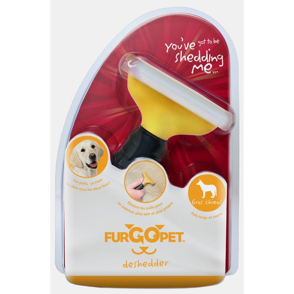 'FurGOpet' Large Dog Deshedding Tool by Furminator 7157698