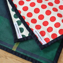 Holiday Plaid ReversibleTable Runner - Thumbnail 1