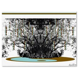 Miguel Paredes 'Budda' Canvas Art