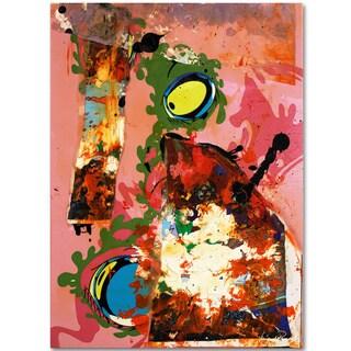 Miguel Paredes 'Urban Collage III' Canvas Art
