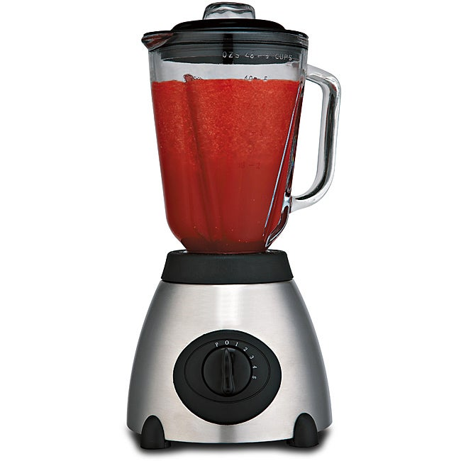 Brentwood JB-800 5-speed Stainless Steel Electric Blender - Thumbnail 0