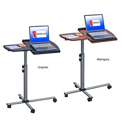 Adjustable Mobile Rolling Laptop Desk