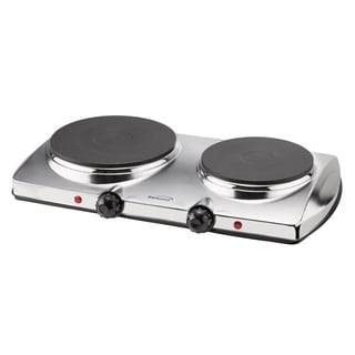 Brentwood TS-372 Electric 1440W Double Hot Plate