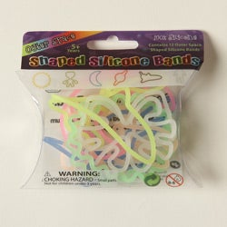 Kabella Silicon Glow in the Dark Outer Space Bands (Case of 144)