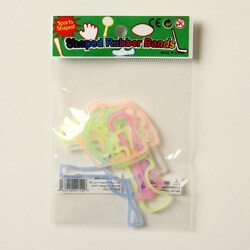 Kabella Silicon Glow in the Dark Sports Shaped Bands (Case of 144)