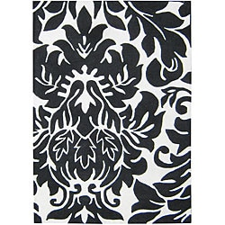 Alliyah Handmade Off-White New Zealand Blend Wool Rug (8' x 10')