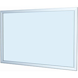 Testrite Silver 24x36-inch Easy Open Snap Frame