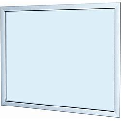 Testrite Silver 22x28-inch Easy Open Snap Frame