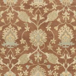 Safavieh Handmade Farahan Brown/ Taupe Wool Rug (8'3 x 11') - Thumbnail 2