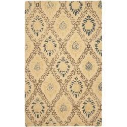 Safavieh Handmade Traditions Beige Wool Rug (8'3 x 11') - Thumbnail 0