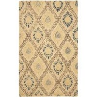 Safavieh Handmade Traditions Beige Wool Rug - 8'3 x 11'