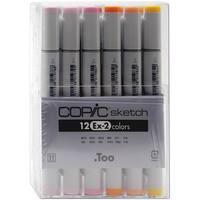 Copic Ex-2 Sketch 12-pc Marker Set