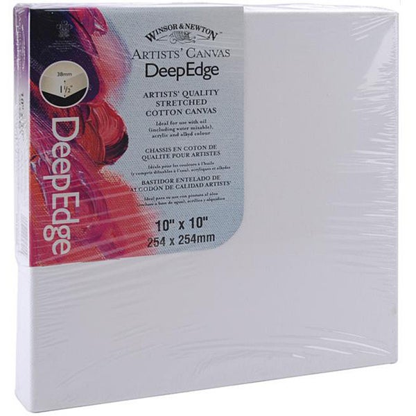 Stretched 10x10-inch Deep Edge Canvas