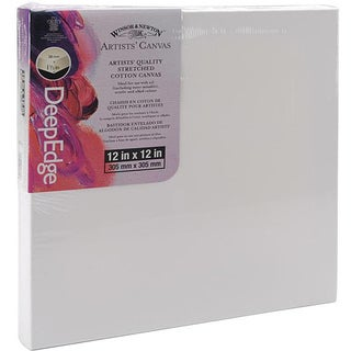 Stretched 12x12-inch Deep Edge Canvas