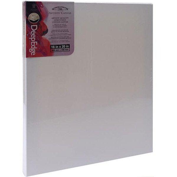 Winsor & Newton 16x20-inch Deep Edge Stretched Canvas