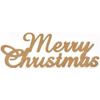 Kaiser Craft Beyond the Page 'Merry Christmas' Press Board