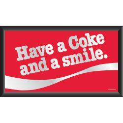 Coca-Cola Collectible with Coke Logo Vintage Mirror - Thumbnail 2