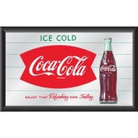 Coca-Cola Collectible with Coke Logo Vintage Mirror