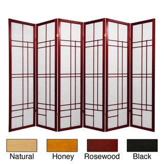 Wood and Rice Paper Eudes Shoji Screen (China)