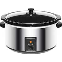 Brentwood 8 Qt. Slow Cooker Stainless