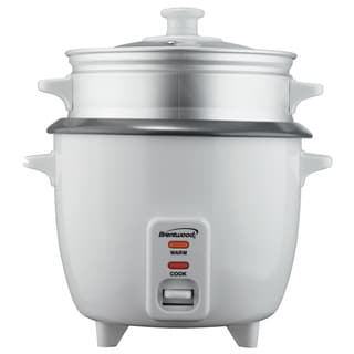 Brentwood 15 Cup Rice Cooker Steamer