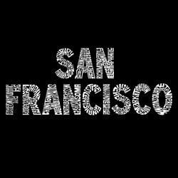 Los Angeles Pop Art Men's San Francisco Hoodie