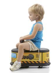 Italtrike La Cosa Toy Construction Vehicle Ride-on - Thumbnail 1