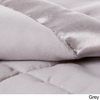 Solid Colored Microfiber Down Alternative Blanket (3 options available)