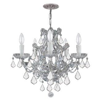 Crystorama Maria Theresa 5-light Crystal Chandelier