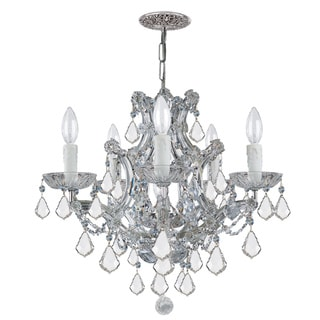 Crystorama Maria Theresa 5-light Crystal Chandelier