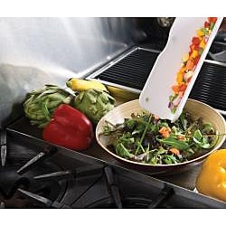Silvermark Green/ White 3-pc Collapsible Silicone Colander Set with Cutting Board - Thumbnail 2