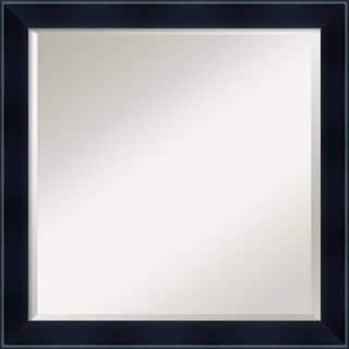 Wall Mirror Square, Madison Black 23 x 23-inch