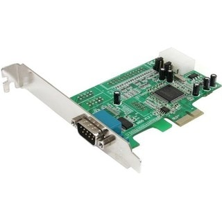 StarTech.com 1 Port Native PCI Express RS232 Serial Adapter Card with