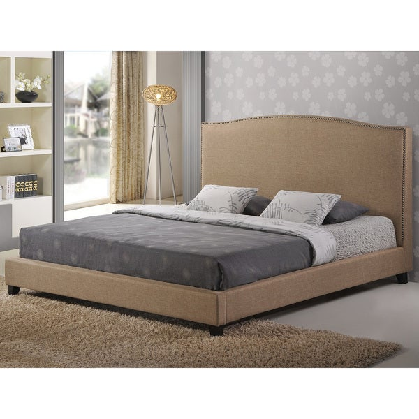 Aisling  Fabric Queen Platform Bed