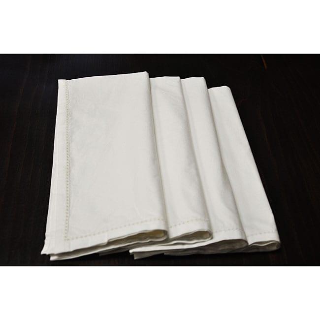 White Napkins (Set of 4)