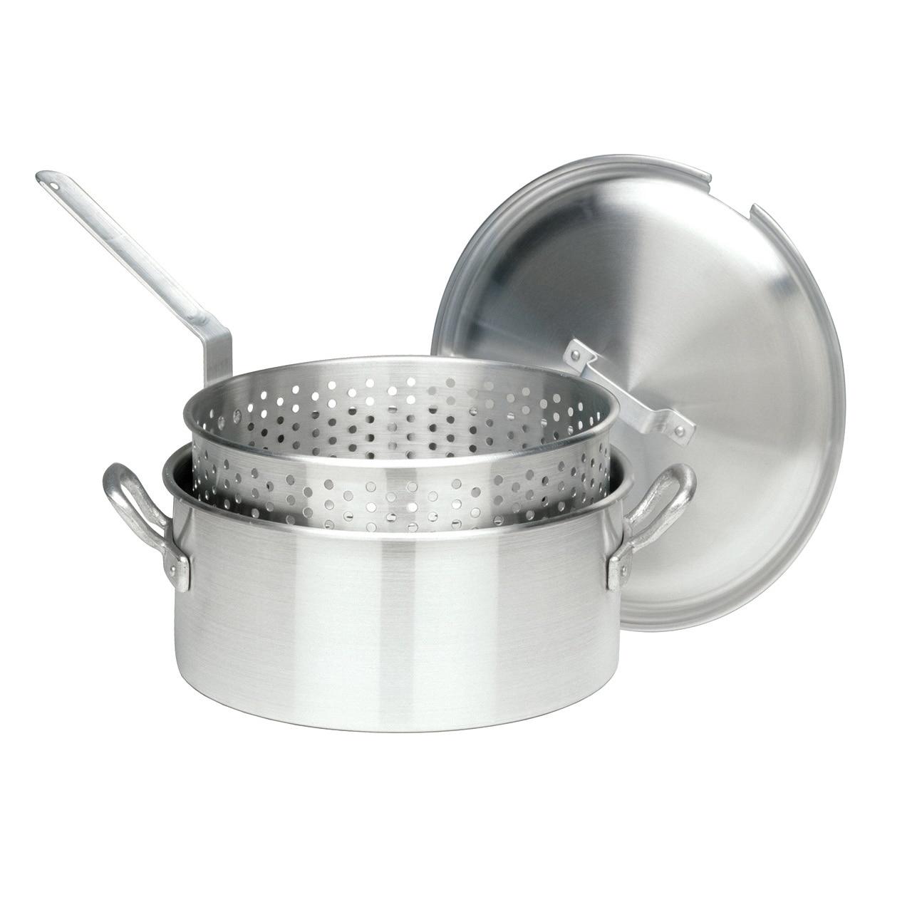 Bayou 14-quart Aluminum (Silver) Deep Fryer