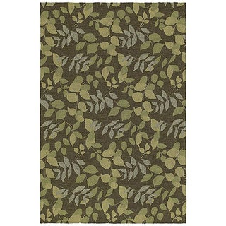 Home & Porch Wymberly Coffee Indoor/ Outdoor Rug (7'6 x 9')
