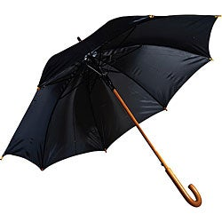 RainWorthy 48-inch Luxury Wood Umbrellas (Case of 24)