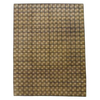 Herat Oriental Nepalese Hand-knotted Tibetan Wool Rug (8' x 10')