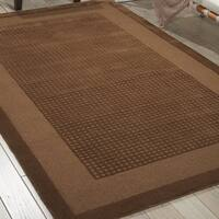 Nourison Westport Hand-tufted Mocca Wool Rug - 8' x 10'6