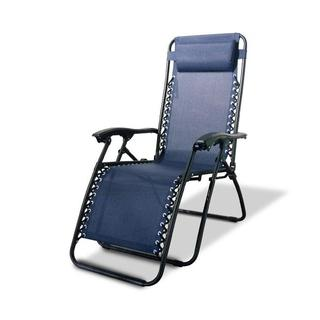 Caravan Canopy Navy Blue Zero-Gravity Chair