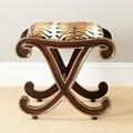 Safavieh Hand-carved Roxie Zebra Stool