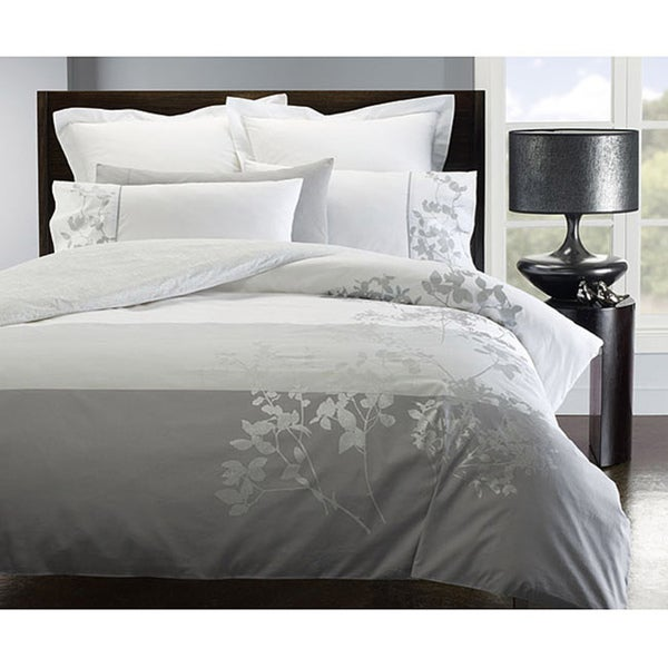 Ivy 3-piece King-size Flange Duvet Cover Set