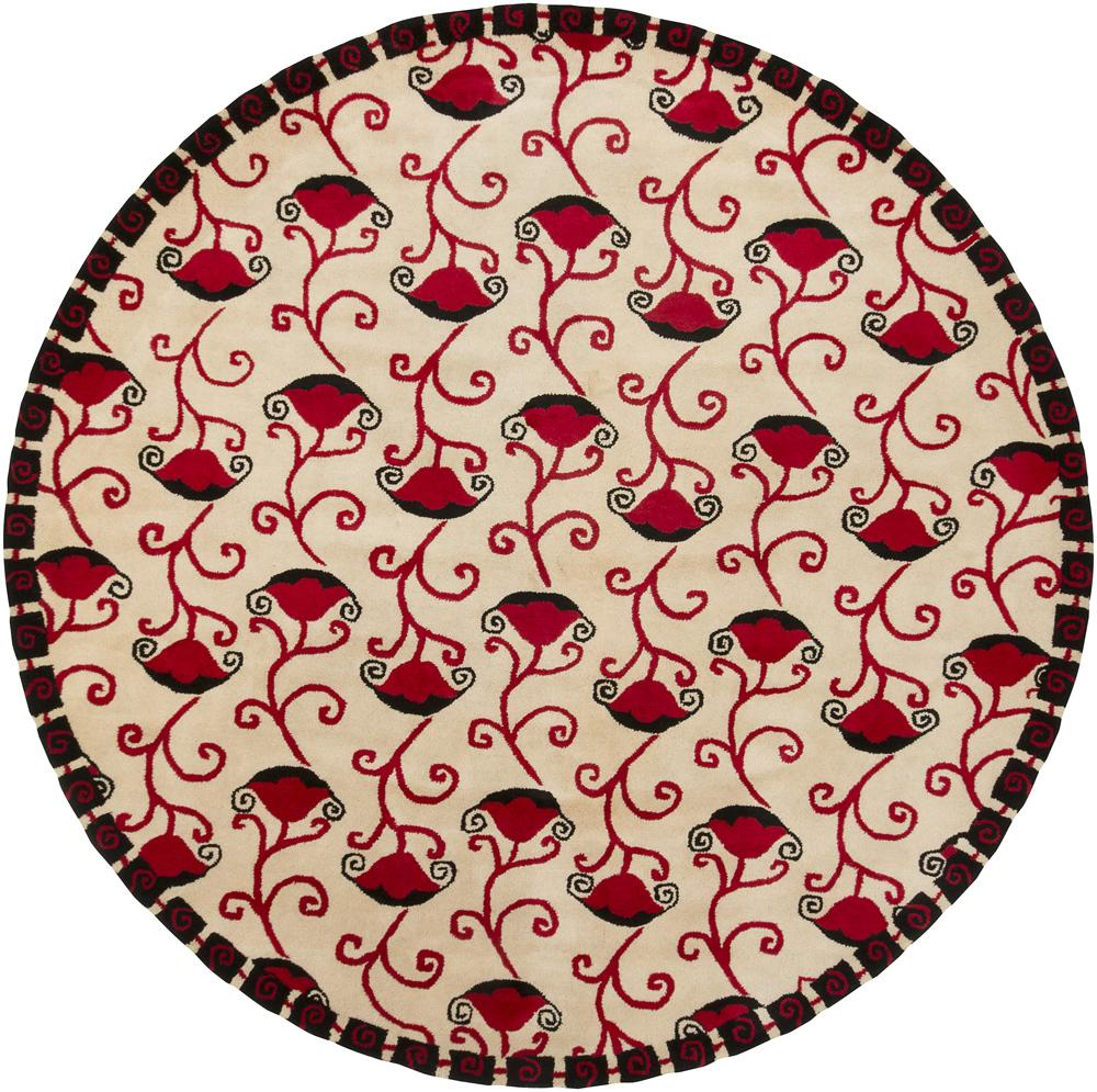 Shop Artist S Loom Hand Tufted Contemporary Floral Wool